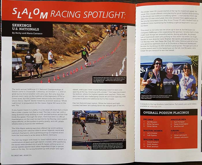 US Nationals 2016 event coverage in CW Mag