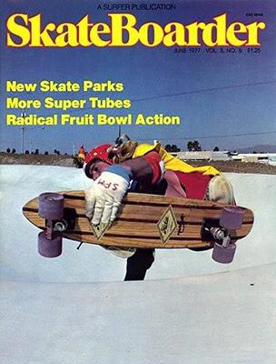 Greg Weaver on Bennett - Cover shot Skateboarder Mag