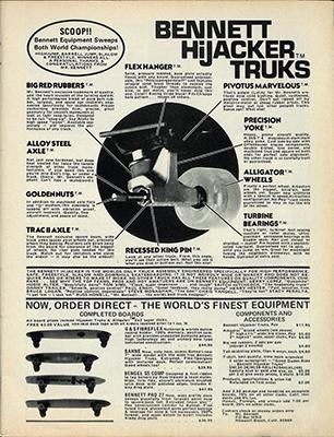 Bennett Hijacker ad 1970's