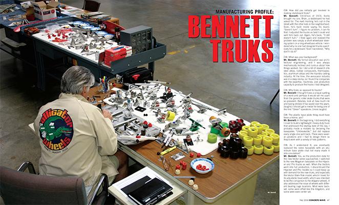 Bennett Interview - Concrete Wave Mag 2006