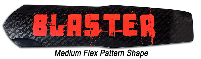 Blaster Medium Flex Pattern at Sk8Kings.com