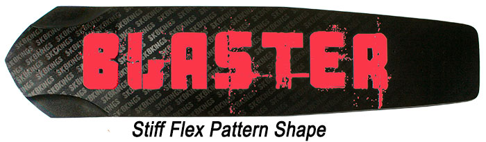 Blaster Stiff Flex Pattern at Sk8Kings.com