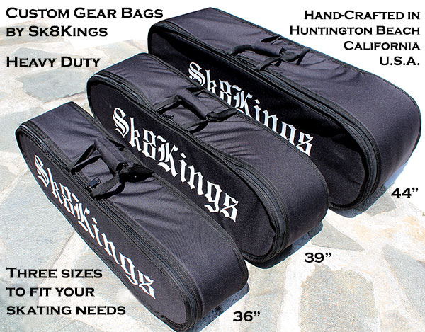 Sk8Kings Custom Gear Bags Three Sizes