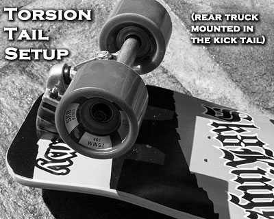 Maximus torsion tail option at Sk8Kings.com