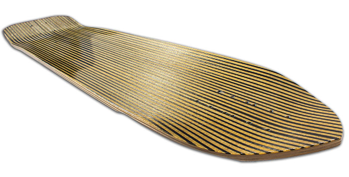 Maximus Untimate Deck side view @ Sk8Kings.com
