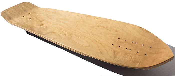 Maximus Woody Deck side view @ Sk8Kings.com