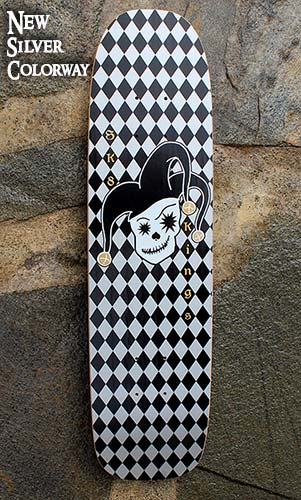 Jester Retro New Silver colorway at Sk8Kings.com