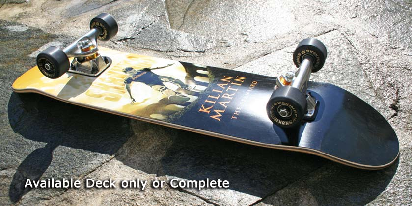 Kilian Martin Pro Street Deck Model at Sk8Kings.com