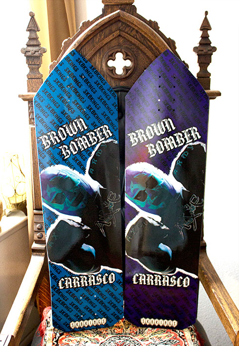 Brown Bomber Ultimate and Woody Series Axe Decks @ Sk8Kings.com
