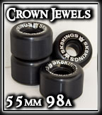 Sk8Kings Crown Jewel Wheels 55mm/98a