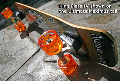King Plate IV skid plate at Sk8Kings
