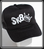 Old English Trucker Hat at Sk8Kings.com