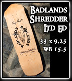 Badlands Shredder Deck at Sk8Kings.com
