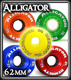 Alligator Wheel Choices - Bennett Locker Rocker 25 Completes at Sk8Kings.com