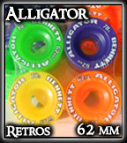Alligator Retro Color Wheelsat Sk8Kings.com