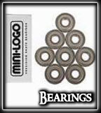 Mini-Logo Bearings at Sk8Kings