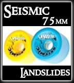 Seismic Landslide Wheels at Sk8Kings.com