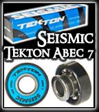 Seismic Tekton Bearings at Sk8Kings.com
