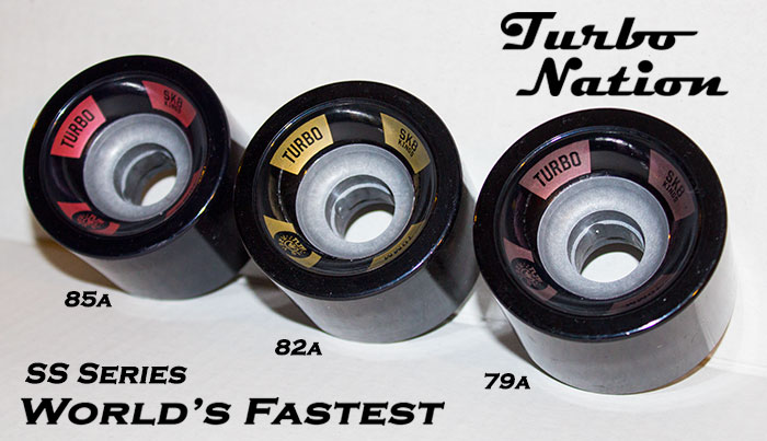 Turbo SS Series Composite Core 70mm @ Sk8Kings.com