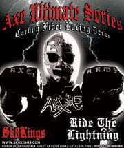 Axe Ultimate Carbon Fiber Racing Deck Series @ Sk8Kings.com