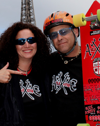 Maria Carrasco with Brad Jackman --  Paris 2007